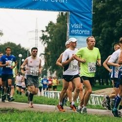 SEB Tallinna Maraton - Heikki Räsänen (349), Aarne Nõmberg (550), Lorenzo Franchi (615), Tiit Tõnismäe (769)