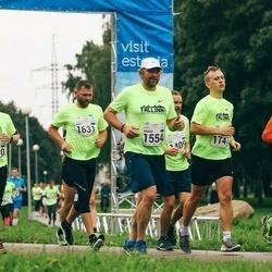 SEB Tallinna Maraton - Valter Ritso (1250), Marko Naarits (1554), Aare Kesamaa (1631), Reiko Anniko (1747)