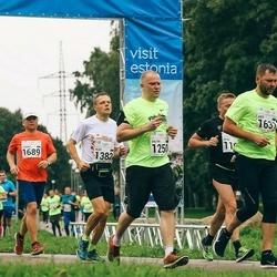SEB Tallinna Maraton - Valter Ritso (1250), Aldo Randmaa (1382), Aare Kesamaa (1631), Toomas Tombu (1689)