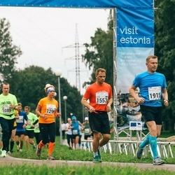 SEB Tallinna Maraton - Annemari Muru (1299), Sten Talviste (1553), Valdo Põder (1915)