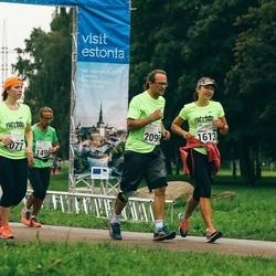 SEB Tallinna Maraton - Ritva Salo (1496), Anneliis Vallimäe (1613), Ksenia Šljapnikova (2077), Rene Vallimäe (2096)
