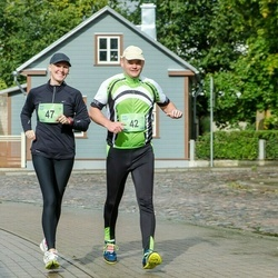 Ultima Thule maraton - Ahti Lepp (42), Hedi Vipp (47)