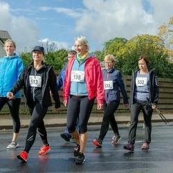 Ultima Thule maraton - Anneli Meisterson (198), Ursula Rahnik (513), Maris Luik (532), Margit Kaldre (533)