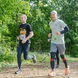 Ultima Thule maraton - Andre Käen (50), Meelis Koskaru (118)
