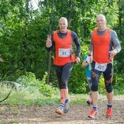 Ultima Thule maraton - Margus Sepp (51), Erki Lillemägi (421)