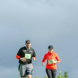 Ultima Thule maraton - Helen Oll (20), Jaanus Metsla (21)