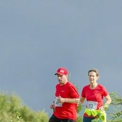 Ultima Thule maraton - Anne-Li Tilk (13), Indrek Lippa (46)