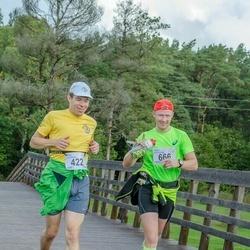 Ultima Thule maraton - Alvar Lumberg (422), Valdo Kanemägi (666)