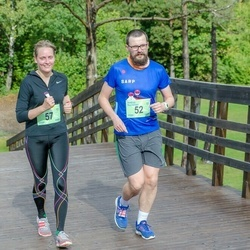 Ultima Thule maraton - Andrus Naulainen (52), Ingrid Aulik (57)