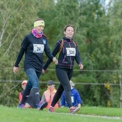 Ultima Thule maraton - Katrina Keerd (24), Laura Heinsaar (520)