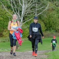 Ultima Thule maraton - Anneli Meisterson (198), Ursula Rahnik (513)