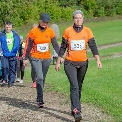 Ultima Thule maraton - Lii Kirves (538), Tiina Ringvee (539)