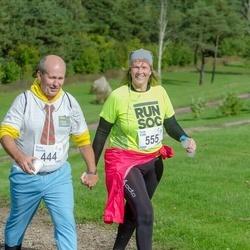Ultima Thule maraton - Enno Kermik (444), Terje Pahk (555)