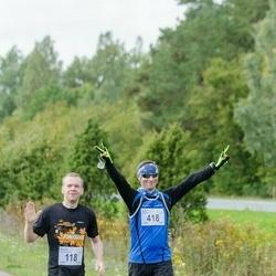 Ultima Thule maraton - Meelis Koskaru (118), Ergo Meier (418)