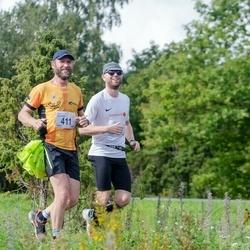 Ultima Thule maraton - Alar Siemann (411), Mait Kadarpik (413)