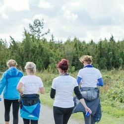 Ultima Thule maraton - Irene Targem (502), Piret Trei (546), Keidi Hoogand (547), Kristel Himmist (548)