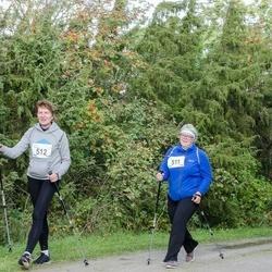 Ultima Thule maraton - Kati Aus (511), Külli Naagel (512)