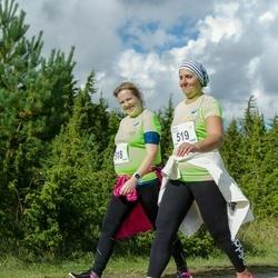 Ultima Thule maraton - Keidi Õispuu (518), Maive Aksalu (519)