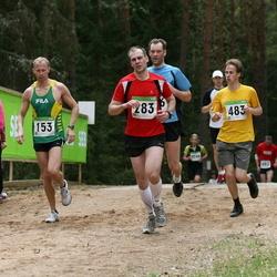 SEB 31. Tartu Jooksumaraton - Keio Hämäläinen (153), Andrey Terentyev (283), Aleksei Panarin (483)