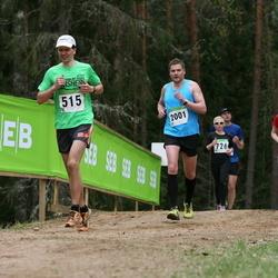 SEB 31. Tartu Jooksumaraton - Jüri Speek (515), Aet Tera (1557), Meelis Tammer (2001)