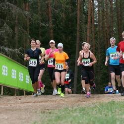SEB 31. Tartu Jooksumaraton - Maie Kuusik (218), Armi Tähema (368), Risto Ahtijainen (723), Siret Pärtel (840), Teemar Hiir (1065)