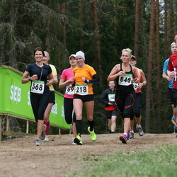 SEB 31. Tartu Jooksumaraton - Maie Kuusik (218), Armi Tähema (368), Risto Ahtijainen (723), Maris Aagver (848)