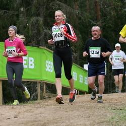 SEB 31. Tartu Jooksumaraton - Ruth Hanson (1022), Monika Eespakk (1023), Üllar Kaljumäe (1049), Artur Jürimäe (1346)