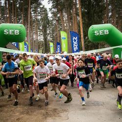 SEB 31. Tartu Jooksumaraton - Hannes Saar (2339), Johannes Sikk (2340), Alvar Ratt (4004), Armin Angerjärv (4025), Tõnu Pullerits (4464)
