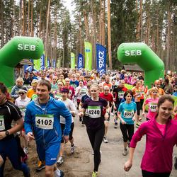 SEB 31. Tartu Jooksumaraton - Kristjan Veskioja (4102), Anni Salu (4240), Tiit Lemsalu (4317), Kaie Põldma (4352)