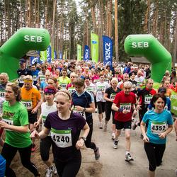 SEB 31. Tartu Jooksumaraton - Silja Laurits (4087), Reelika Päädam (4224), Anni Salu (4240), Asti Kuuse (4268), Kaie Põldma (4352), Stella Arvi (4479)
