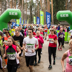 SEB 31. Tartu Jooksumaraton - Martin Hunt (5212), Rigne Znamenski (5308), Agnes Soodla (5345), Madis Hein (5374)