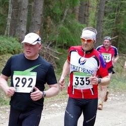 SEB 31. Tartu Jooksumaraton - Aivo Traks (292), Arno Bachaus (335)