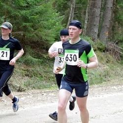 SEB 31. Tartu Jooksumaraton - Aarne Luud (121), Andrus Pedai (630)