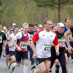 SEB 31. Tartu Jooksumaraton - Eddi Joost (289), Aigar Ojaots (298), Aare Piire (472)