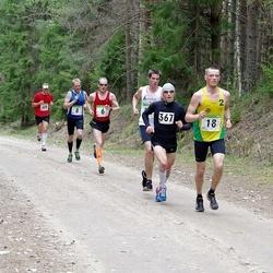 SEB 31. Tartu Jooksumaraton - Margus Pirksaar (6), Mikk Laur (8), Sander Hannus (18), Priit Ailt (49), Urmas Peiker (367)