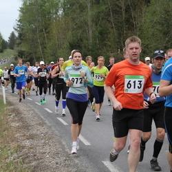 SEB 31. Tartu Jooksumaraton - Uku Vilu (406), Agu Vilu (613), Meelika Muiso (972)