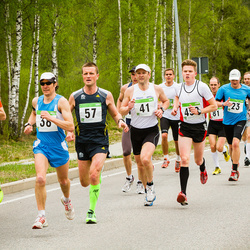 SEB 31. Tartu Jooksumaraton - Jürgen Selgis (23), Tauno Hang (38), Alar Savastver (41), Hanno Kindel (57), Sander Mirme (70)