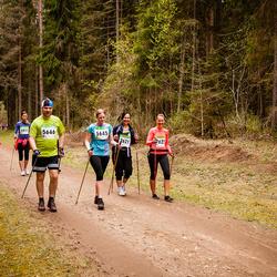 SEB 31. Tartu Jooksumaraton - Berit Kroon (5645), Hanno Kroon (5646)