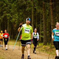 SEB 31. Tartu Jooksumaraton - Berit Kroon (5645), Hanno Kroon (5646), Kaisa Peiker (6035)