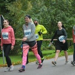 Paide-Türi Rahvajooks - Agnes Kostin (2081), Lisete Palmi (2653), Marit Tammela (3204), Eliise Voitka (3518)