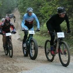 Haanja100 - Hannes Kägu (275), Jan Minski (338), Kalle Takel (366)