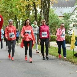 Paide-Türi Rahvajooks - Annika Nõulik (2562), Siret Pihelgas (2715), Kristi Rohtla (2909), Kaspar Tammist (3214)