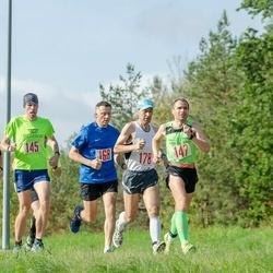 143. Pööripäevajooks - Mikk Kruusmägi (145), Ahto Jakson (147), Jüri Linde (168), Innar Sepp (178)