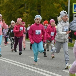 Paide-Türi rahvajooksu lastejooksud - Hanna Misella Raudava (448), Liisa Sild (519)