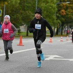 Paide-Türi rahvajooksu lastejooksud - Tairi Tops (589), Emma-Henette Tooming (799)