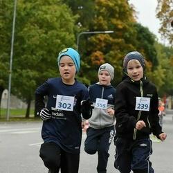 Paide-Türi rahvajooksu lastejooksud - Remy Laar (239), Andre Morel (302)