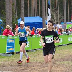 SEB 31. Tartu Jooksumaraton - Ahti Sillaste (146), Christopher Raastad (652)