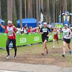 SEB 31. Tartu Jooksumaraton - Gerd Laub (149), Arno Bachaus (335), Gery Einberg (2021)
