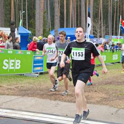 SEB 31. Tartu Jooksumaraton - Anatoli Läte (456), Talis Marja (1153)