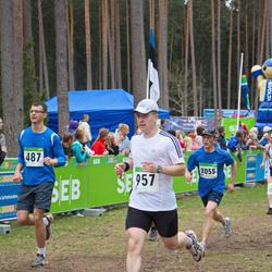 SEB 31. Tartu Jooksumaraton - Lauri Arus (487), Alar Lehesmets (957)
